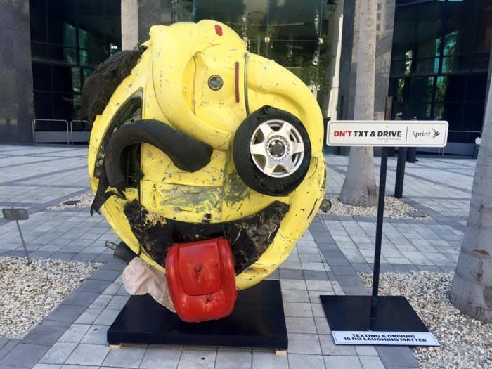 La société américaine Sprint lance une campagne de prévention pour garder les conducteurs attentifs