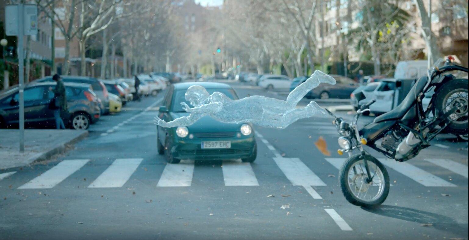Campagne sécurité routière dangers moto