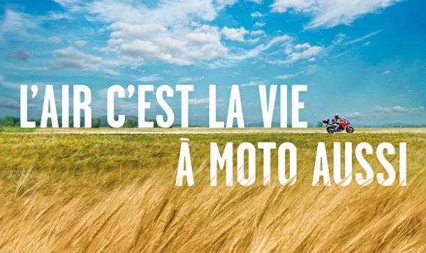 Campagne sécurité routière airbag moto