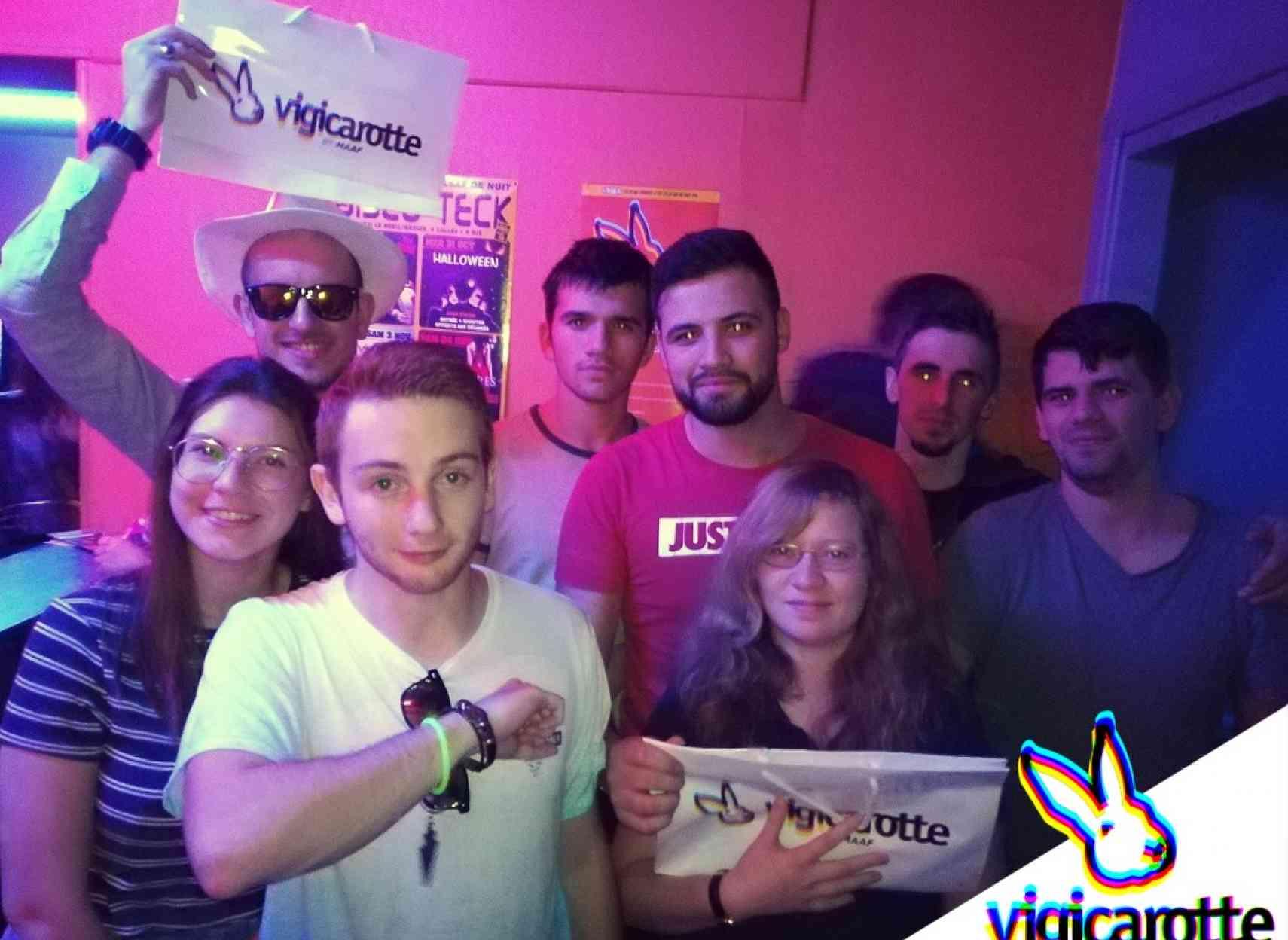 soirée vigicarotte Le Disco Teck
