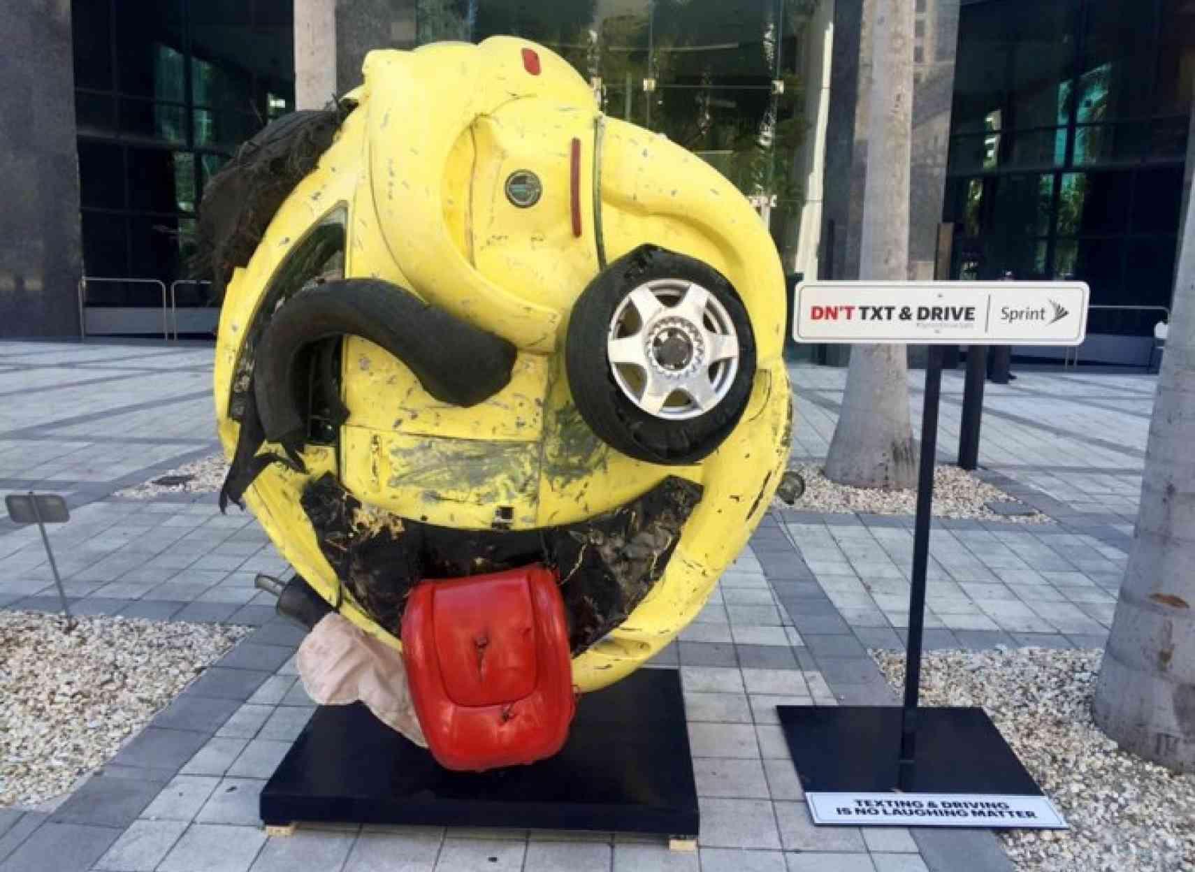 Campagne de prévention de Sprint pour garder les conducteurs attentifs.