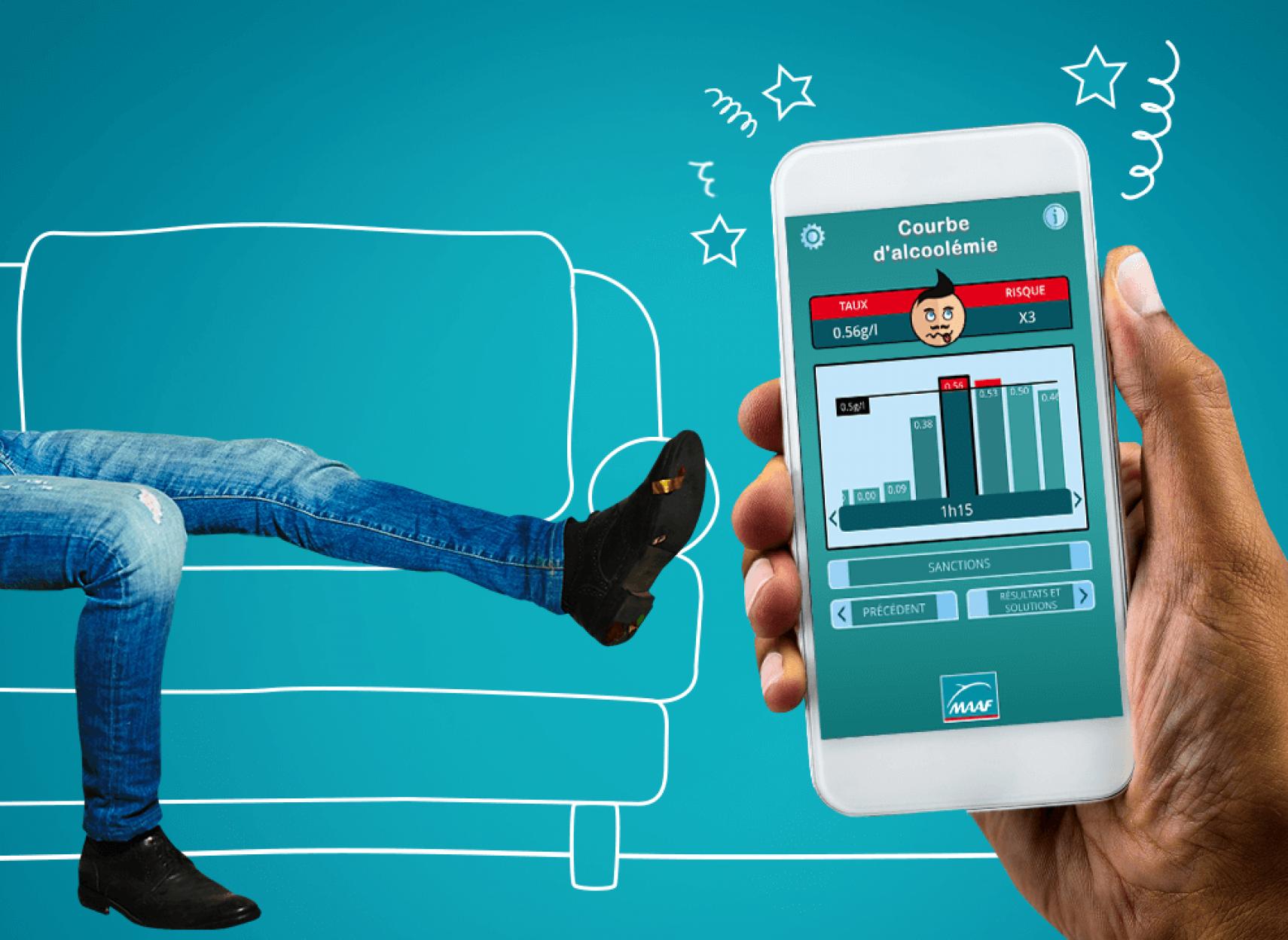 test d'alcoolémie gratuit dans votre mobile et votre tablette