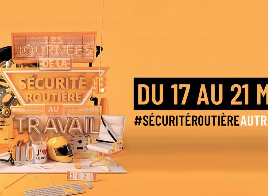 17 au 21 mai 2021: Journées de la Sécurité Routière
