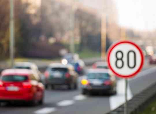 La limitation de vitesse à 80 km/h mise en place le 1er juillet 2018